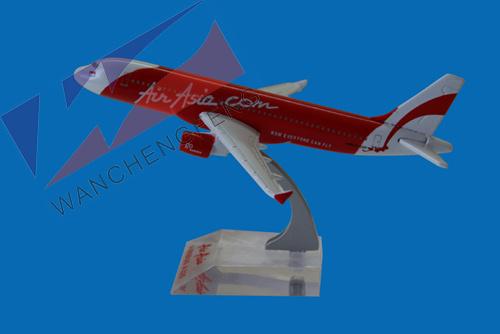 Metal Plane Model (A320)