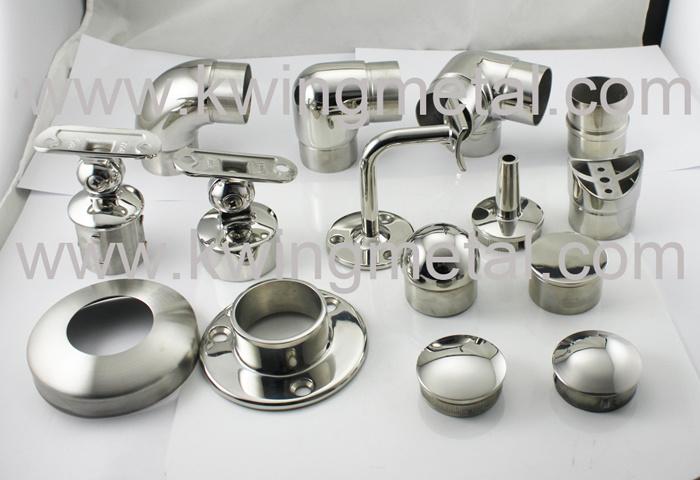 Stainless steel handrail fitting joy studio design