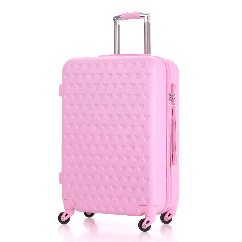 Trolley Luggage with 360 Degrees Rotating Wheels, Made of ABS+PC