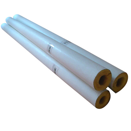 Fiberglass pipe insulation insulation for outside pipes for Is fiberglass insulation fire resistant