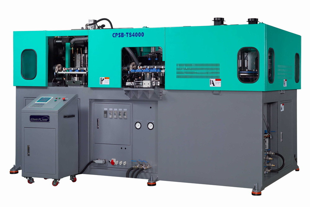 Wide Neck Pet Stretch Blow Moulding Machine (CPSB-TS4000W)
