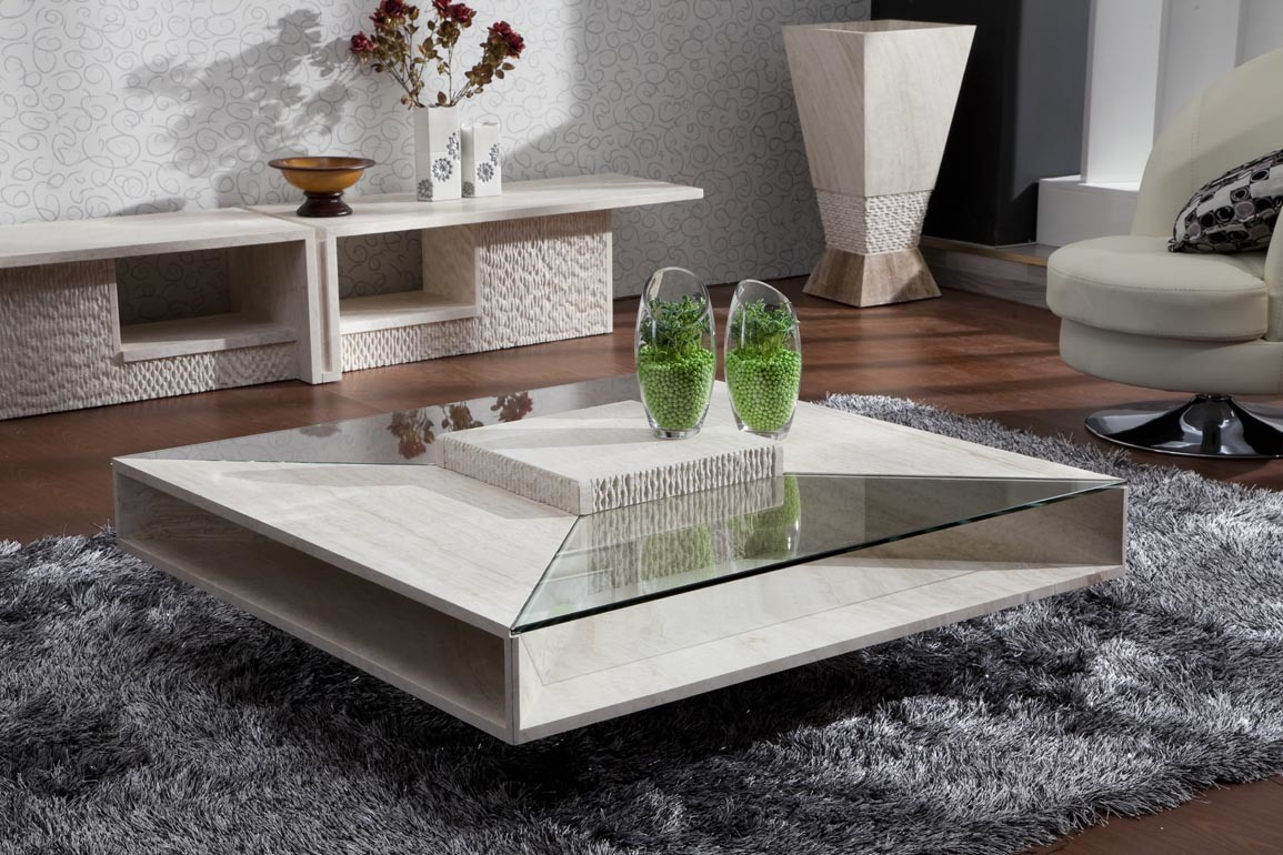China Marble Coffee Table D8802 China Marble Furniture Stone Furniture