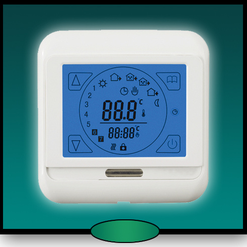 china touch screen room thermostat digital room thermostat lcd thermostat hvac room. Black Bedroom Furniture Sets. Home Design Ideas