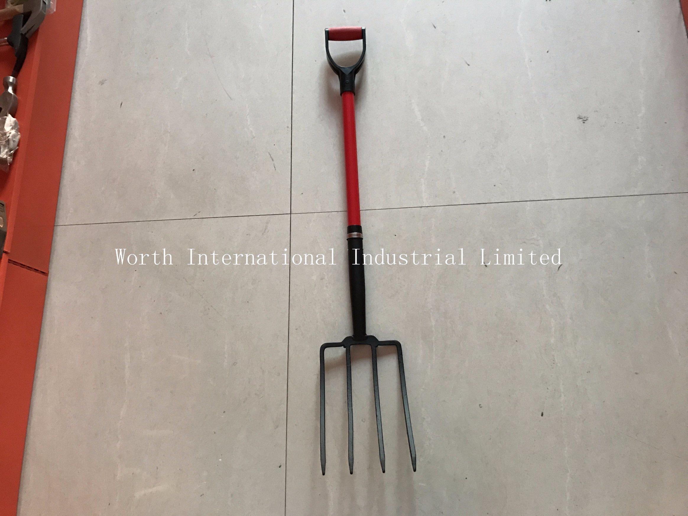 Fiberglass Handle Fork Plastic D Grip