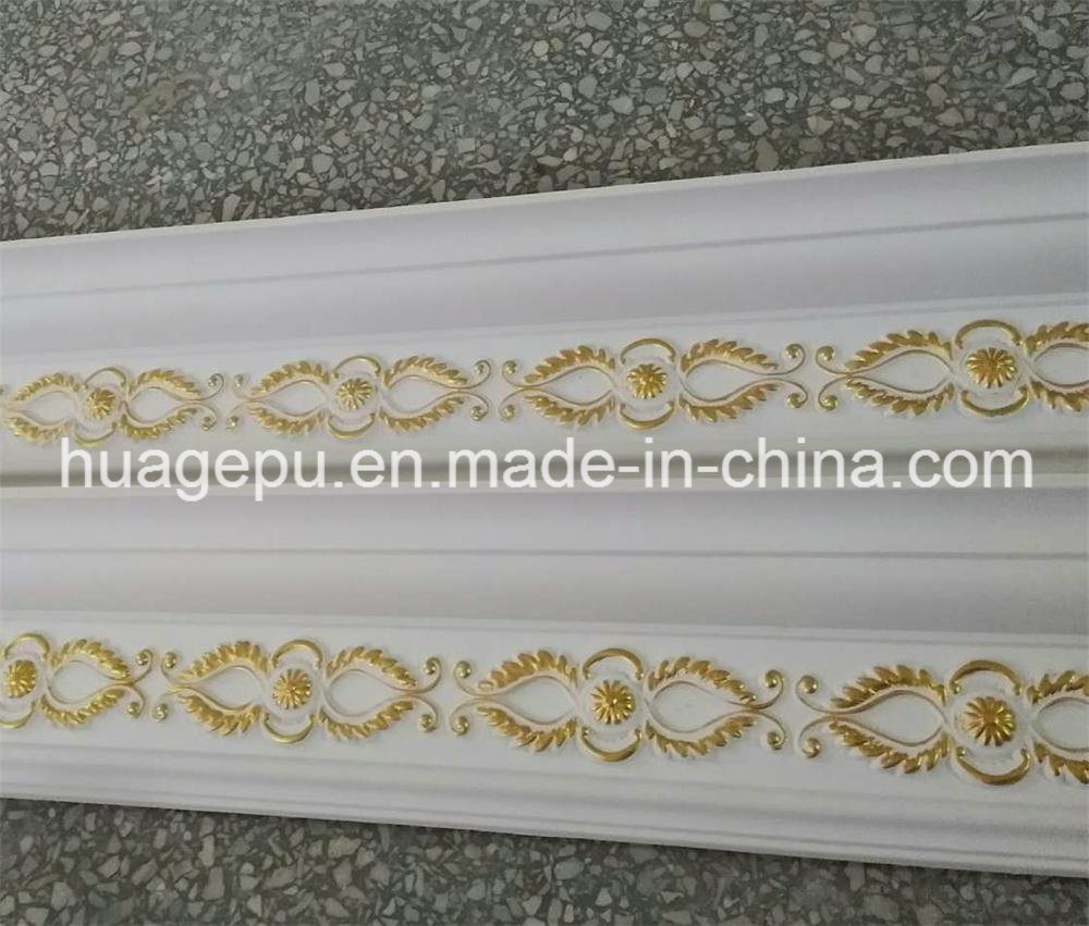 High Quality Polyurethane PU Carving Ceiling Cornice Moulding