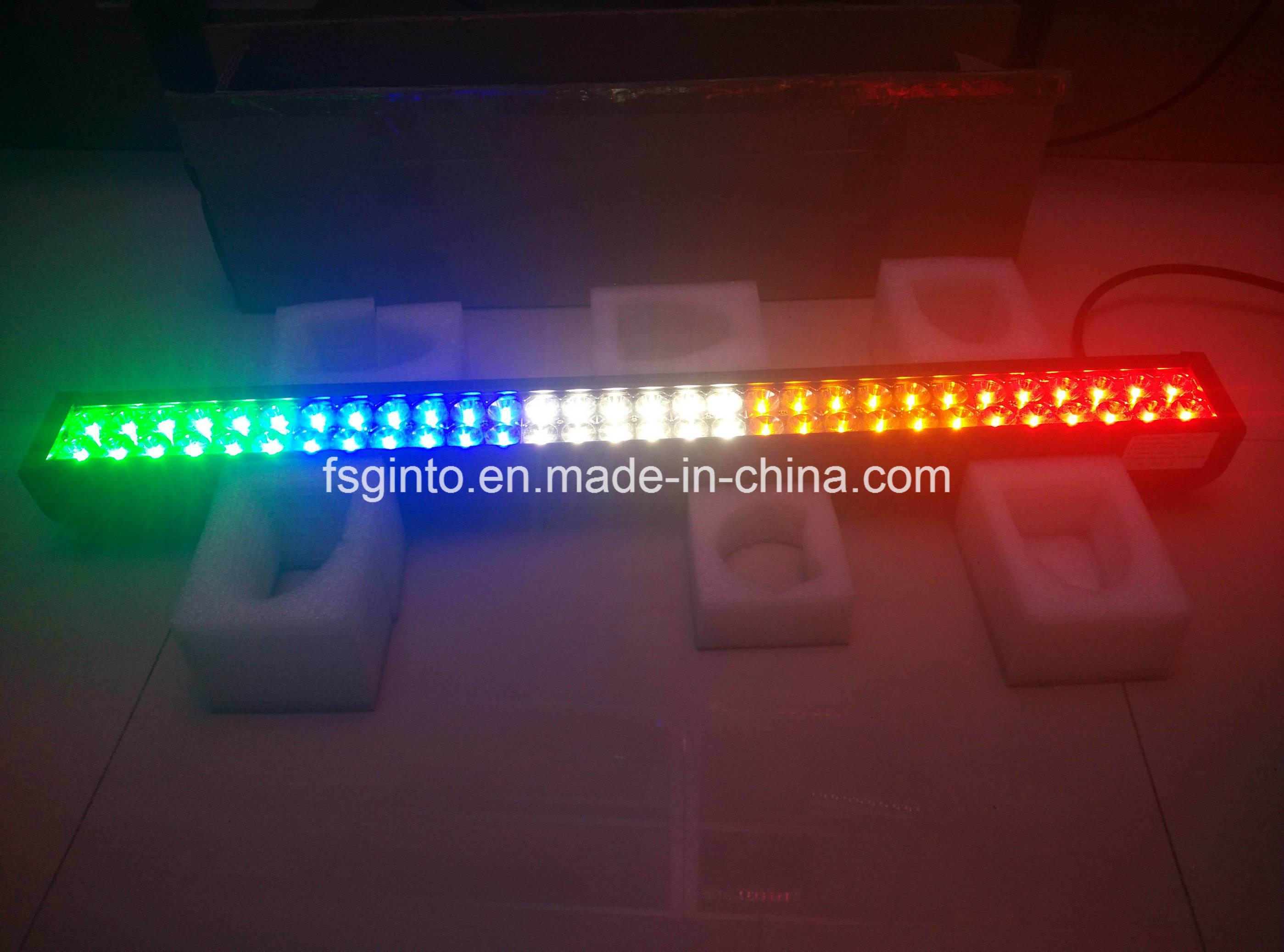 Waterproof Multi-Color Epistar 240W 42inch LED Light Bar (GT31001EP-240W-Multicolor)