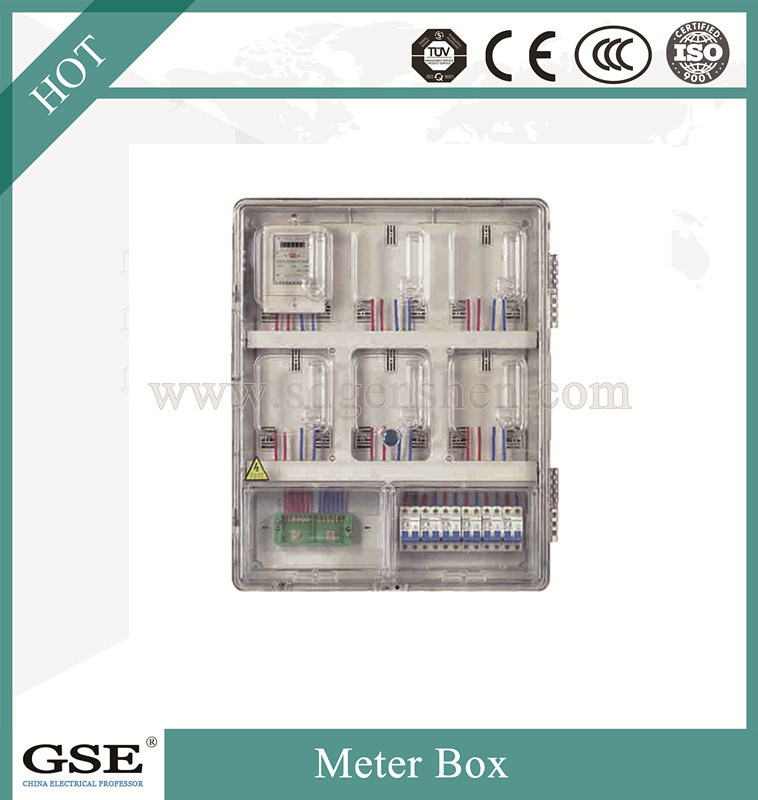 Waterproof Single Phase Electrical Energy PC Meter Box