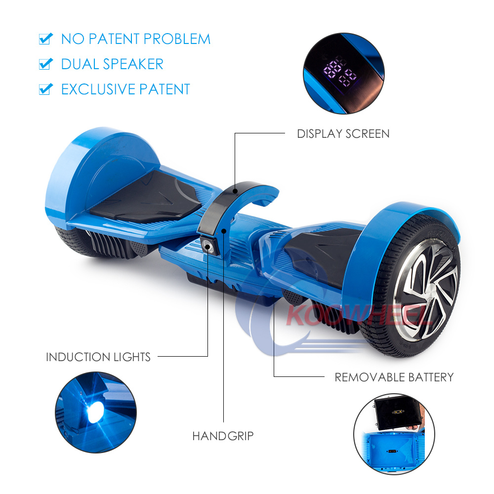EU& USA Warehouse Scooter Koowheel Handle Gripe Design Hoverboard with 2 Years Warranty