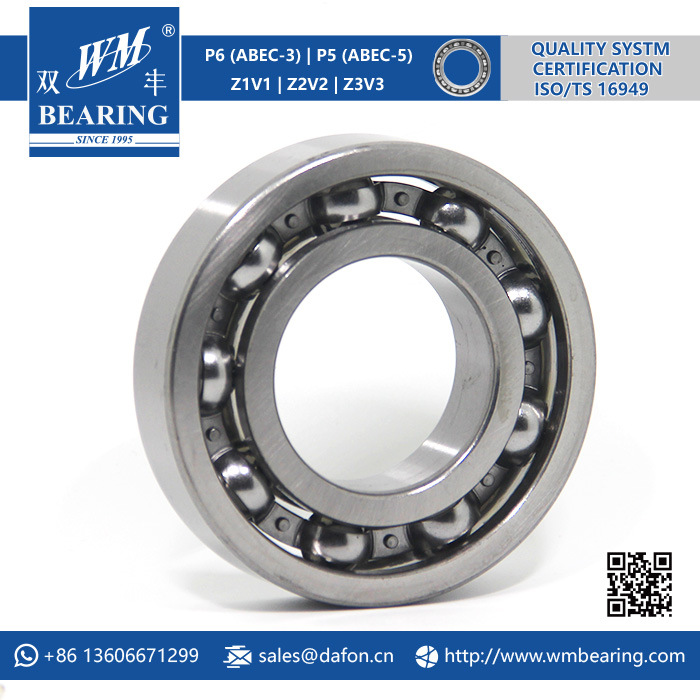 P6 Abec-3 Z2V2 SKF 6208 Deep Groove Ball Bearing