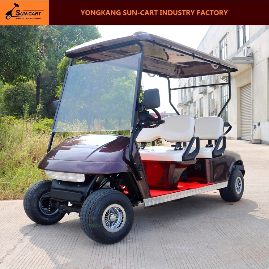 Ce Certificated 4 Seater Electric Golf Cart for Golf Course