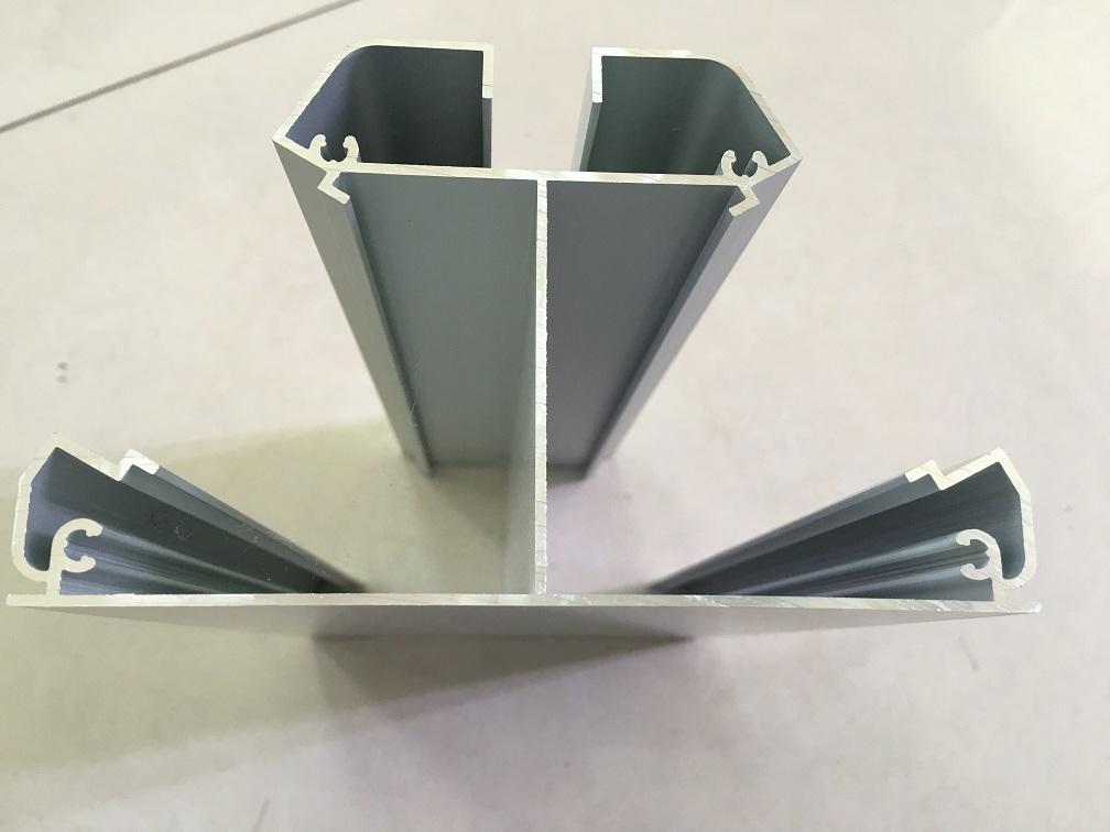 OEM Aluminum/Aluminium Extrusion Profiles for Screen Solar Frame