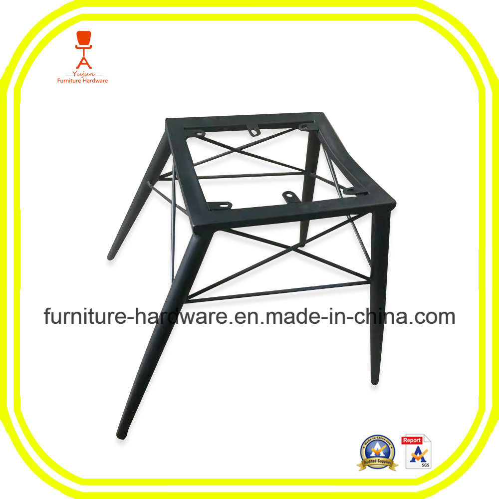 Iron Sheet Hotel Restaurant Banquet Dining Stool Black