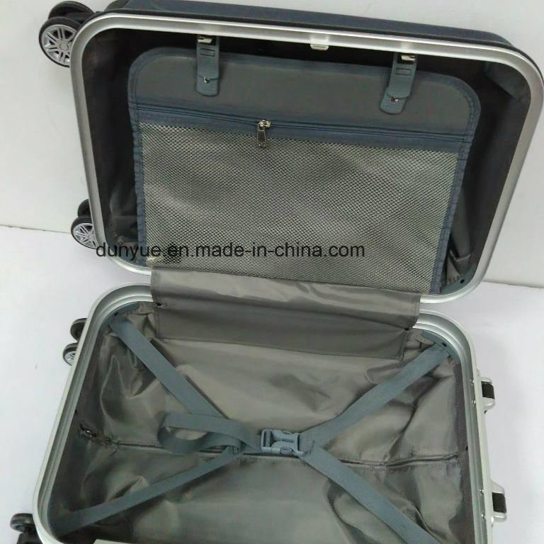 "Low MOQ PC Material 20""24""28"" Aluminum Frame Rolling Luggage Suitcase Bag, Customized Trolley Case Bag for Travel"