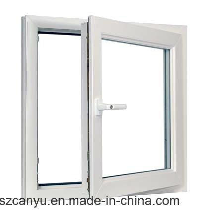 Aluminium Casement Window with Mosiquote Net, UPVC Window for Building
