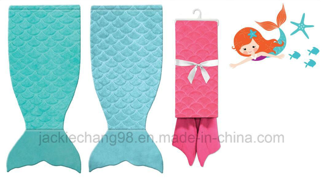 Brushed Flannel Little Mermaid Blanket 100% Polyester