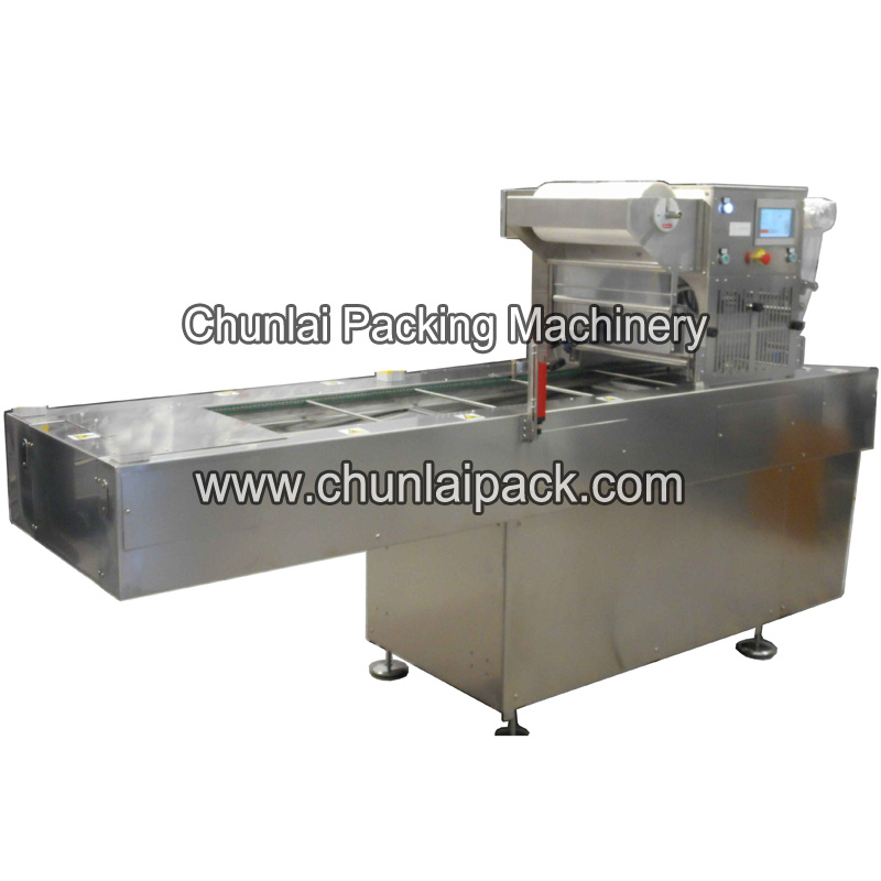 Frozen Food Map Packaging Machine