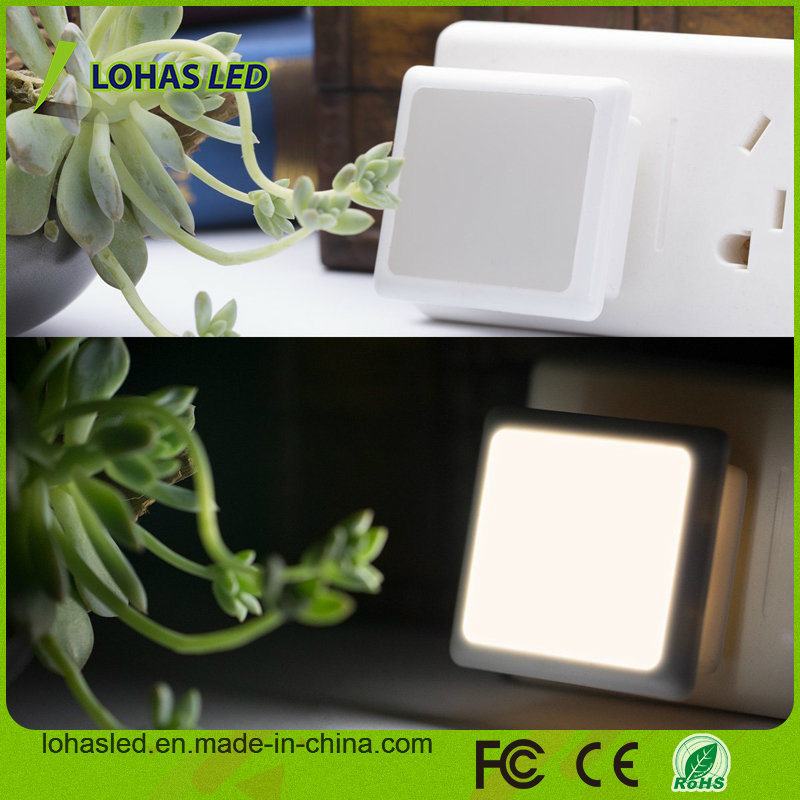 LED Night Light Bulb 0.3W/110V Plug in LED Night Lamp with Automatic Dusk to Dawn Light Sensor
