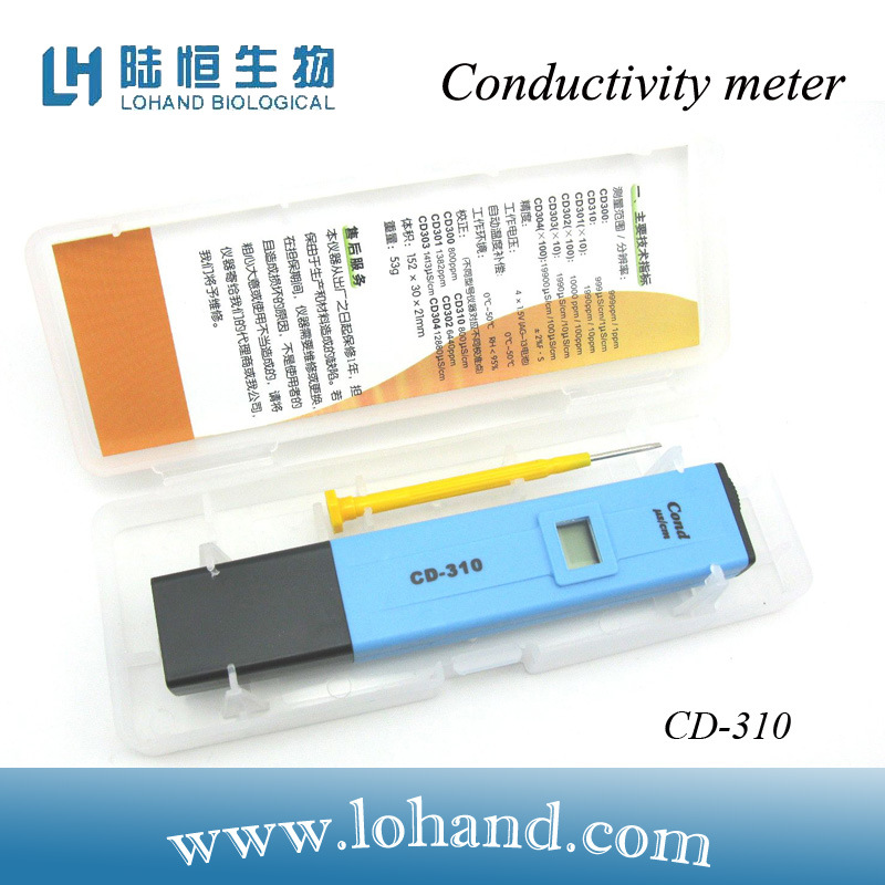 Hangzhou Lohand Factory Economical Conductivity Meter (CD-310)