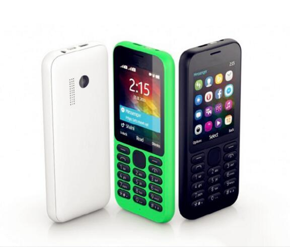 2015 Cheapest Ederly Mobile Phone N215 Quad Band Dual SIM Card Unlocked GSM/GPRS Smart Phone