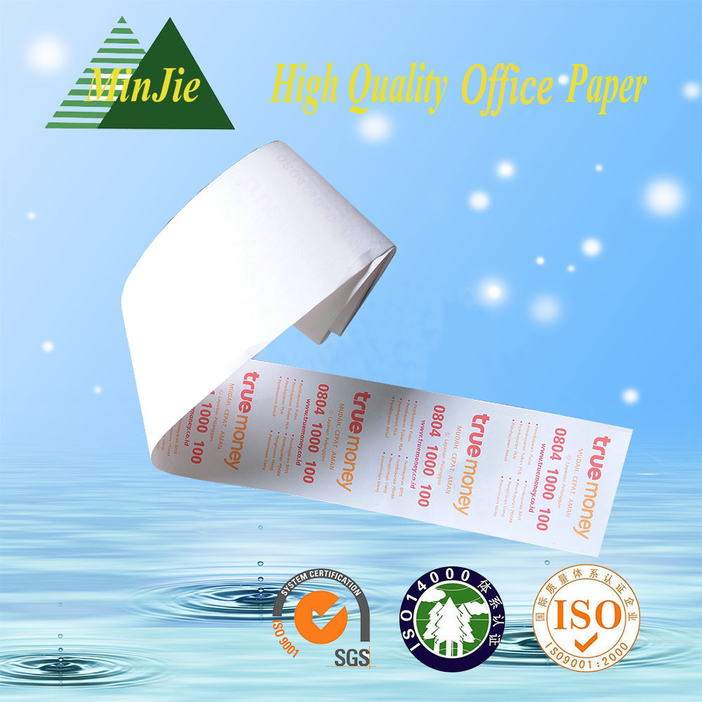 Cash Register Paper Type ATM Paper Printed Thermal Paper Roll
