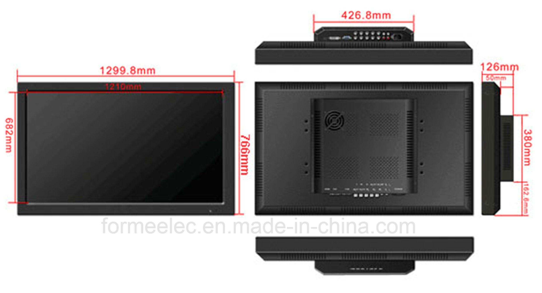 55 Inch LCD Monitor Brightness 700nits LED Monitor