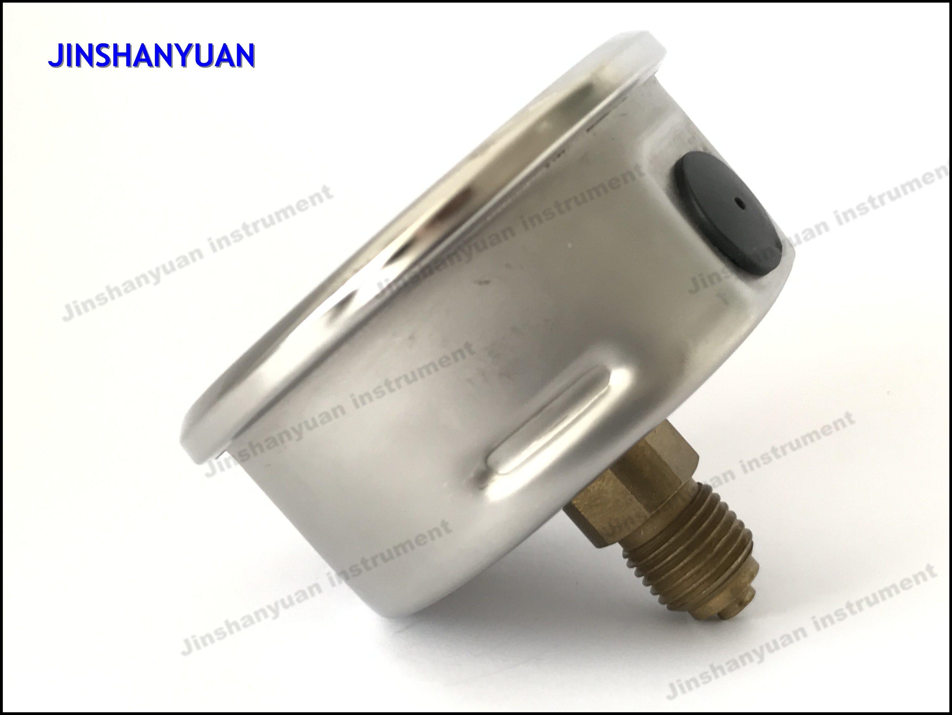 Og-014 Back Connection Pressure Gauge/Brass Thread Pressure Gauge/Oil Manometer