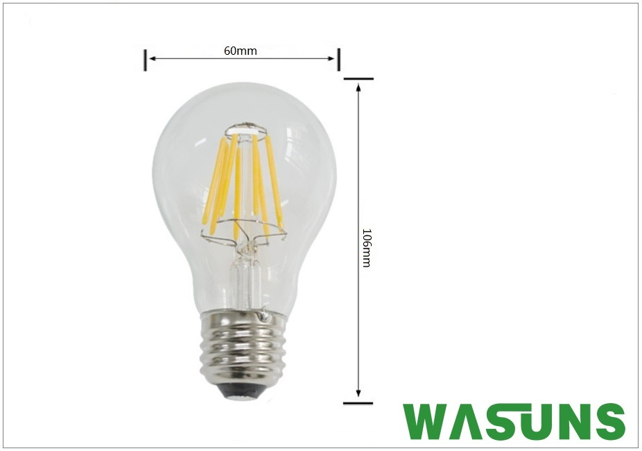 Good Quality and Good Price 6W LED Filament Bulb