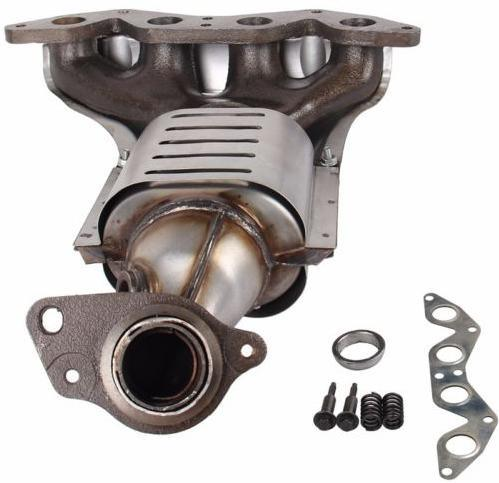 Exhaust Manifold Fits for Honda Civic W Catalytic Converter for 01-05 1.7L L4 Sohc
