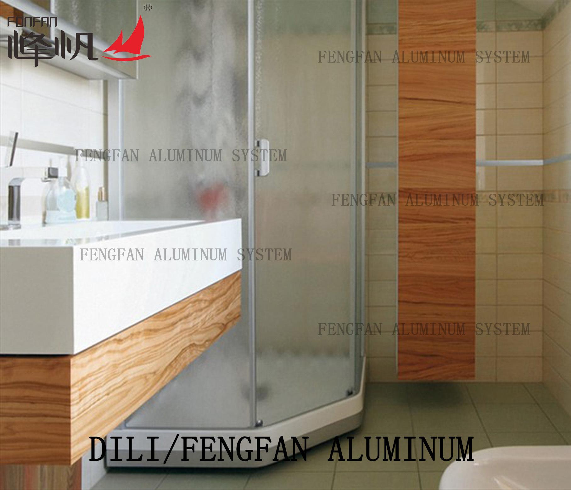 Aluminum Square Edge Tile Trim