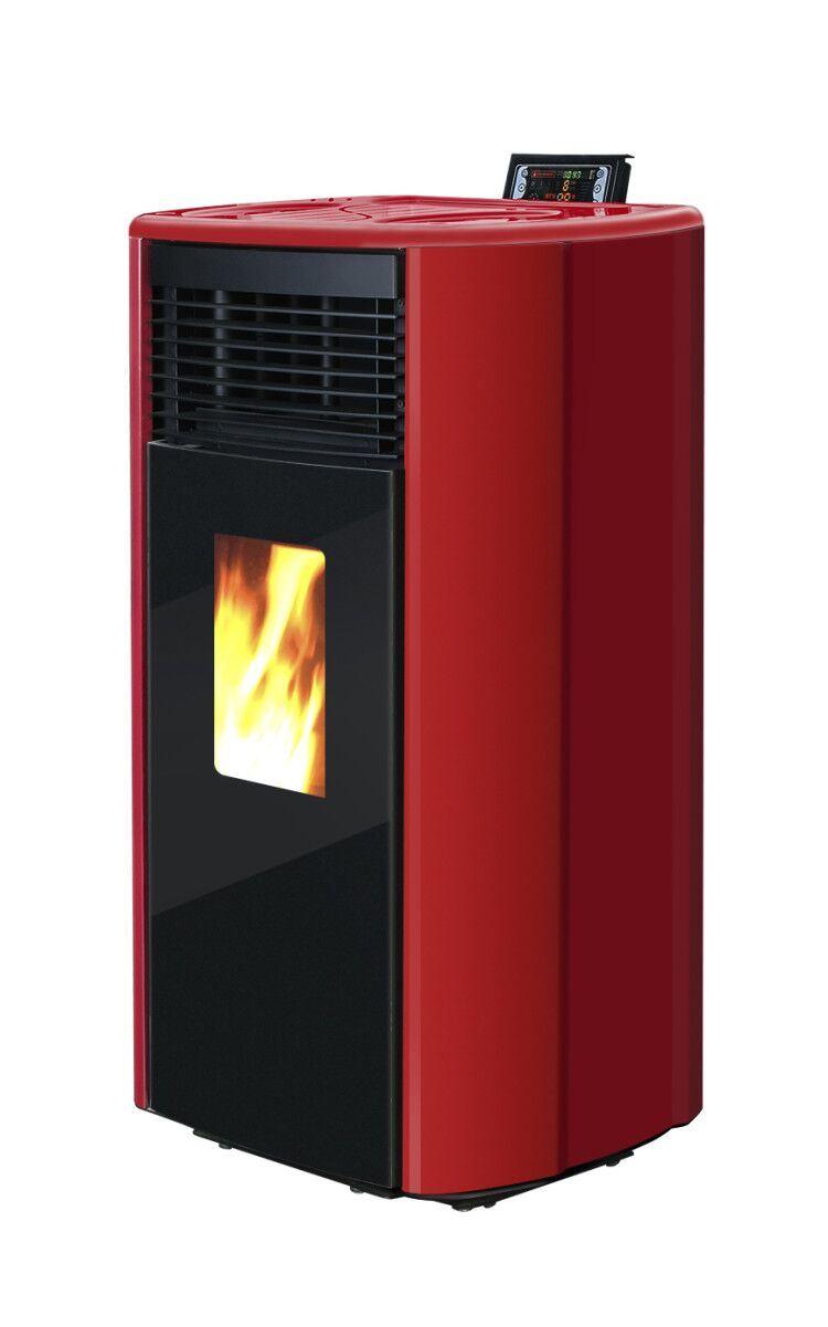 Cr-09 Red Estufa De Pellets