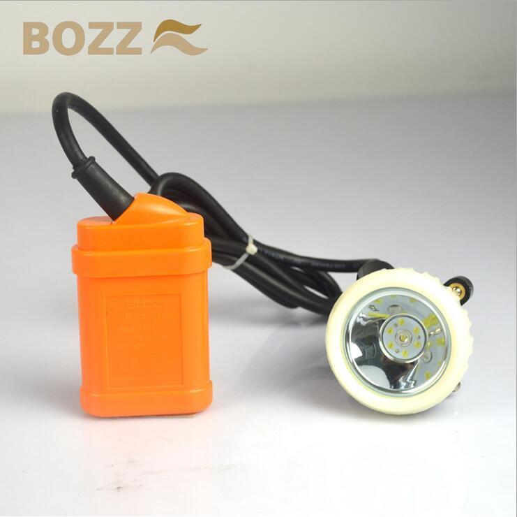 Headlignt LED Cordless Mining Cap Lamp Kj3.5lm (A)