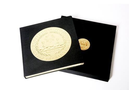 Hardcover Book with Golden Glid Side Printing Service