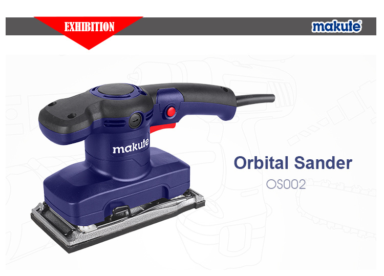 electric orbital sander. china makute 480w electric orbital sander of wood tools - sander,