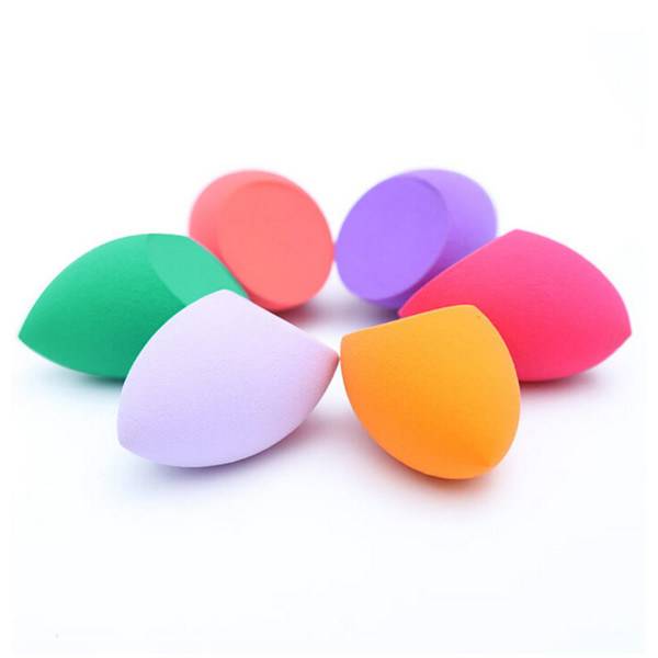 Olive Cut Shape Makeup Sponge Teardrop Shapes Beauty, Applicators for Foundations, Creams etc Nonlatex Make up Sponge