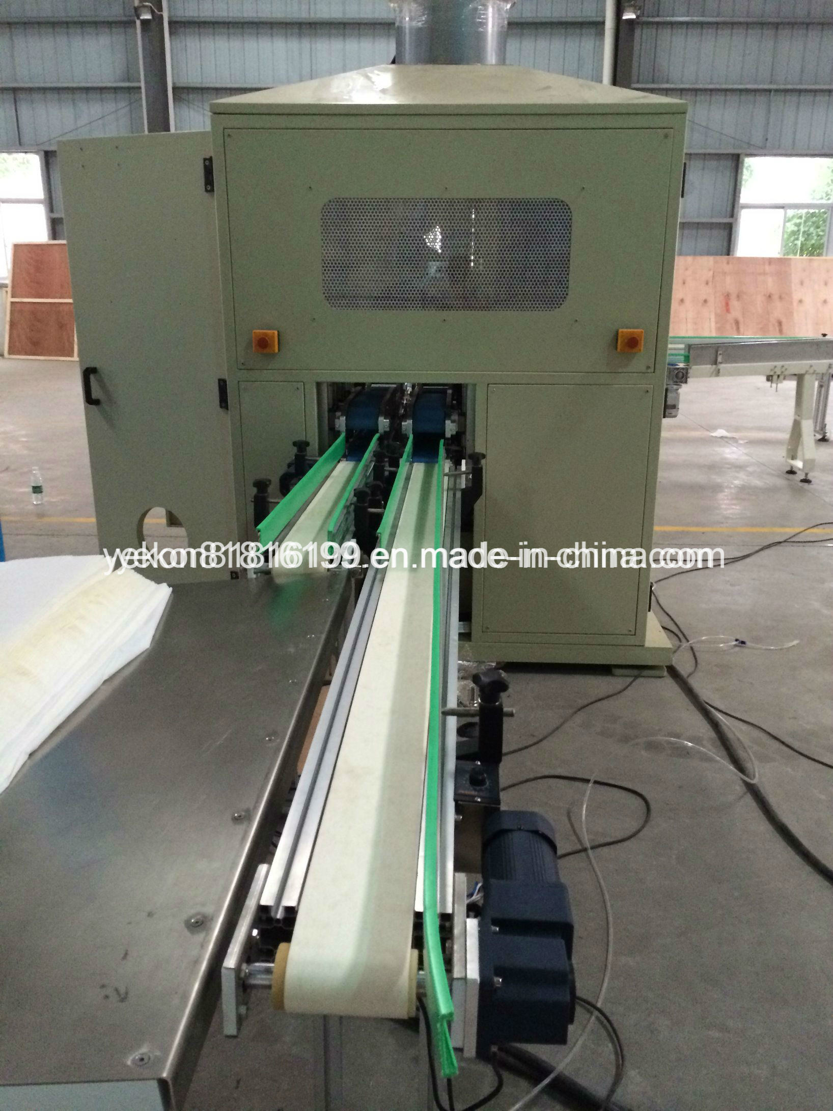 Automatic Tissue Paper Log Saw Cuttimg Machine