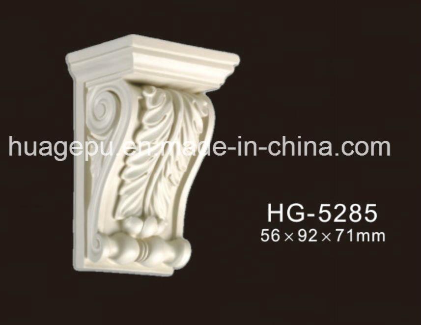 Factory Price Polyurethane PU Ornaments PU Foam Exotic Corbel