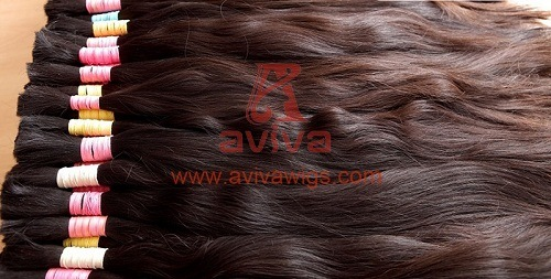 Unprocessed Natural Virgin Remy Cuticles Intact Hair Extension