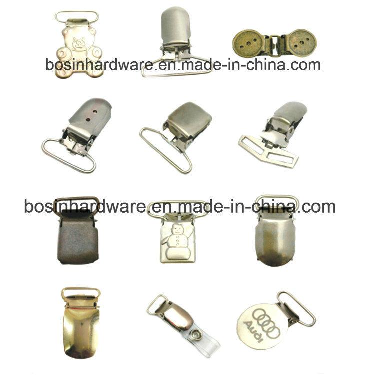 Hardware Metal Pacifier Suspender Clip