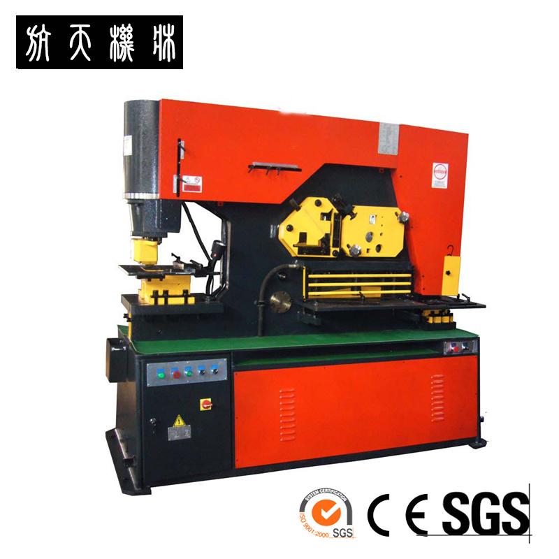 Hangli Brand Metal Sheet Punching, Shearing and Notching Ironworker Q35Y-30