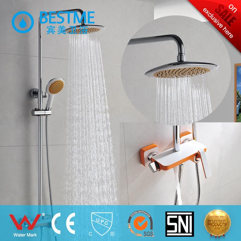 Colorful Modern Design Shower Aucet in Bathroom (BM-60028F)