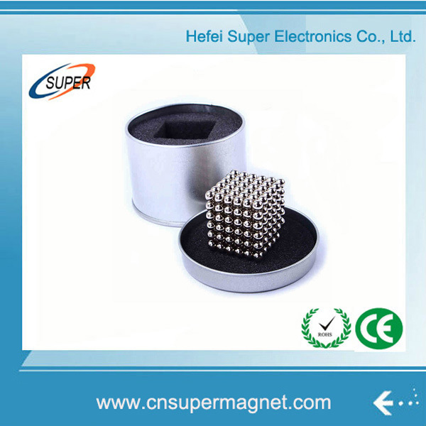 5mm Magnetic Ball 216PCS Neodymium Sphere Magnets with Box