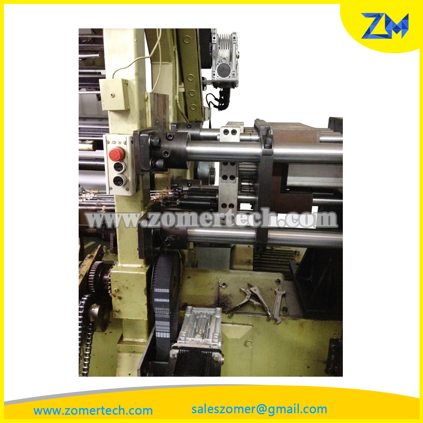 Adding EL (Electronic Lateral) System in Warp Knitting Machine