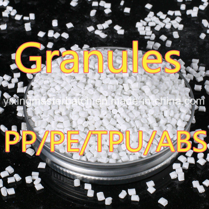 Plastic PE PP ABS White Color Masterbatch