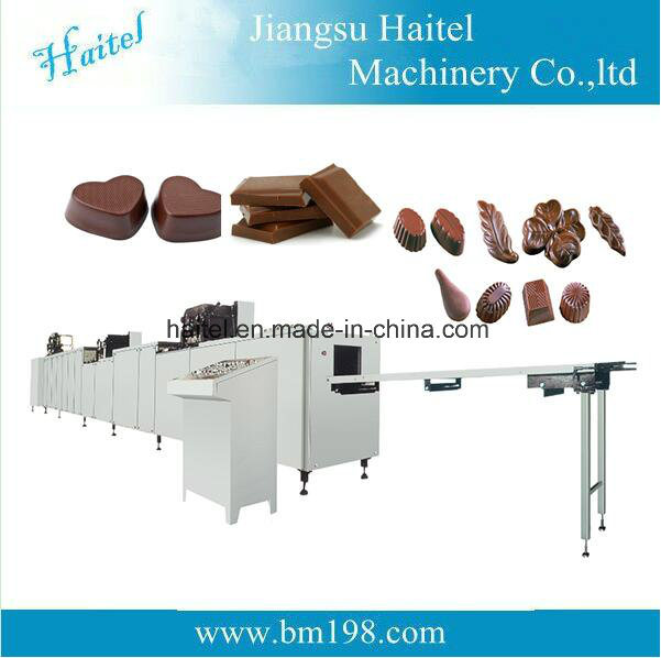 Chinese Popular Fully Automatic Chocolate Depositing Machine