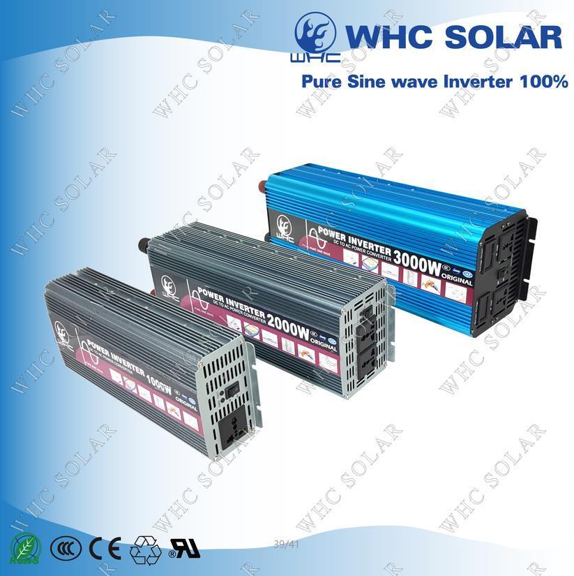 1000W 2000W 3000W PV Solar Pure Sine Wave Inverter
