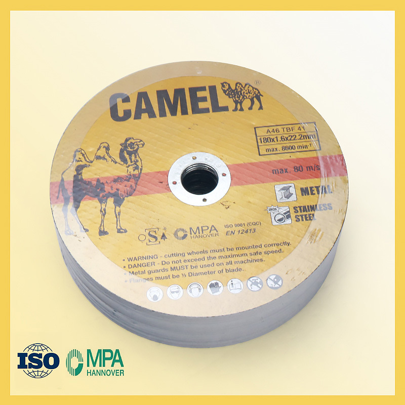 T41 Cutting Disc for Steel with Diameter of 180mm