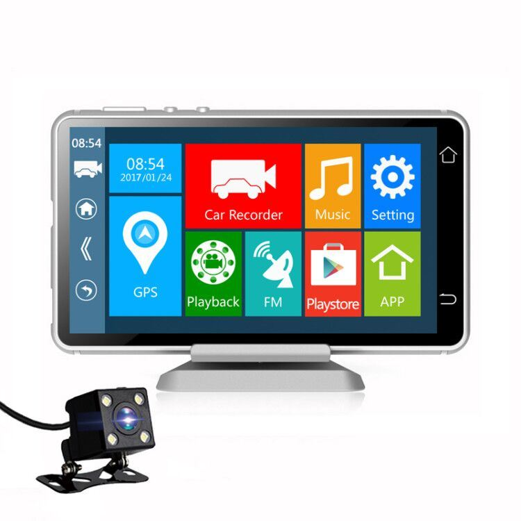 Bluetooth Touch Screen Camcorder Ce Certification GPS Battery Powered WiFi Camera