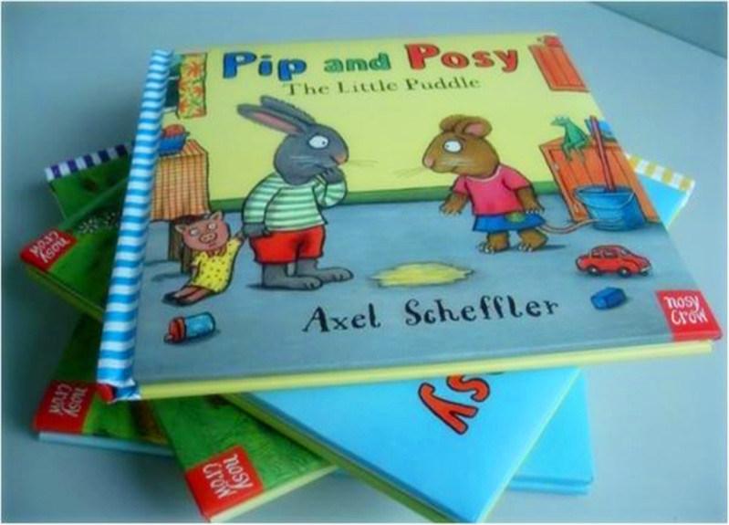 Custom English Story Book Hardcover Book for Children