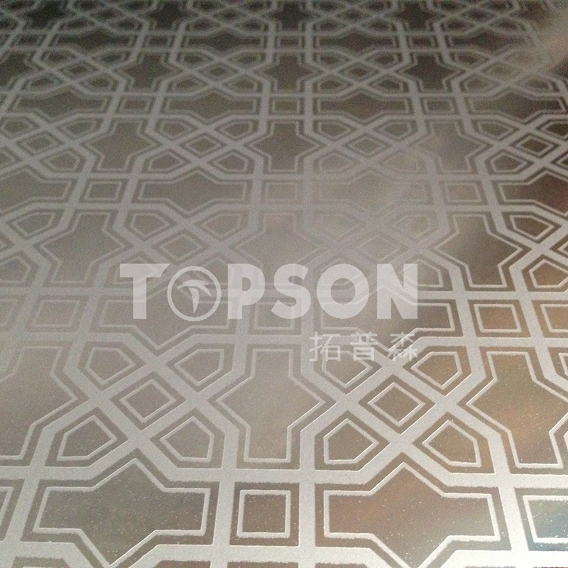 Cold Rolled Mirror 8k Etched Color Stainless Steel Sheet Plate for Decoration