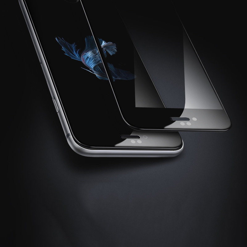 3D Carving Full-Covered Tempered Glass Film for iPhone 7/7 Plus